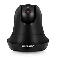 Wholesale indoor audio systems - KEEKOON 1080P IP Camera Wireless Wifi Baby Monitor Plug Play Pan Tilt 2-Way Audio Night Vision Home Surveillance Security Alarm System