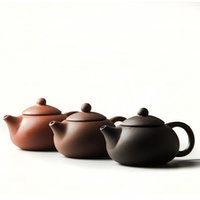 Wholesale ceramic clay pots - 2017 Chinese Zisha Teapot Cup China Kung Fu Tea Set Ceramic Bottle Tea Sets Porcelain Kettle yixing clay Tea Pot Teacup D011