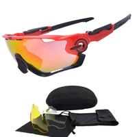 очки защитные очки солнцезащитные очки велосипедный велосипед оптовых-3 объектива TR90 Велоспорт очки Мужчины Женщины Спорт цикл солнцезащитные очки велосипед очки Марка дизайнер Велоспорт очки