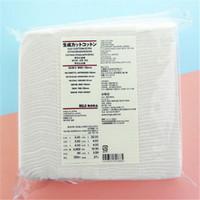baumwolle für nägel-entferner großhandel-180 Teile / paket Muji organische gesichts pads baumwolle für e zigarette wattepads Gesichtsreinigung Hautpflege nagellackentferner kostenloser versand