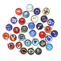 Wholesale football jewelry for women for sale - Group buy 32pcs Mix Football Sports Hanging Dangle Charms Floating Charms Diy Bracelet Bangle Pendant Necklace For Women Men Jewelry