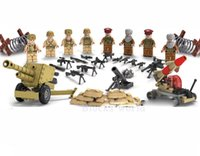 Wholesale Soldier Sets - Military Soviet Army Soldiers War Building Blocks Figures Bricks Models sets Educational Assembled Children Toys Gift