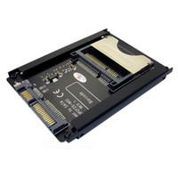 ssd kartları toptan satış-Chengyang sata 22pin cpl kart adaptörü 2.5 inç sabit disk kılıfı ssd hdd cf cfc kart okuyucu için pc laptop