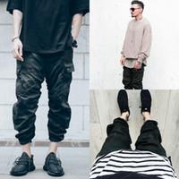 Wholesale zipper pocket harem pant resale online – Mens Pants Fashion Trend Camouflage Work Joggers Men s Street Breeze Loose Haren Trousers Men s Track Pants