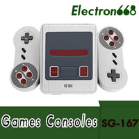 Wholesale video games 16 bit resale online - 16 Bit Retro Mini Video Game Console Family Handheld Consoles Support TV AV Output Vedio MD Games With Retail Box
