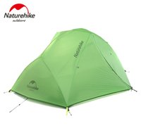 Wholesale galaxy base - Naturehike Galaxy Lightweight Outdoor Camping Hiking Tent Waterproof Double Layer Travel Equiment NH15T012-T for 2-person