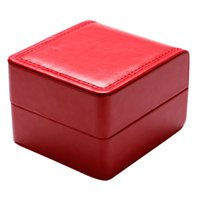 мужские наручные часы оптовых-Hot Sale Watch Box Women Men Wrist Watches Boxes With Foam Pad Storage Collection Gift Box for Bracelet Bangle Watch Jewelry