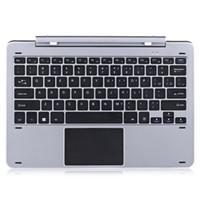 legierungstastatur großhandel-Multi-Mode-Drehwelle Aluminiumlegierung Tastatur für Chuwi Hi12 Magnetische Docking-Pogo Pin trennbar Design für den Spiel Chat