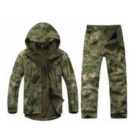 vêtements de chasse achat en gros de-Hommes En Plein Air Vestes Imperméables TAD V 5.0 XS Softshell vêtements de chasse vêtements thermiques Tactique Camping randonnée souffle Sport Costume Livraison gratuite