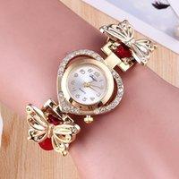 mira a las chicas amar al por mayor-Las nuevas chicas aman el reloj pulsera mariposa decoración joyería pareja regalo al por mayor