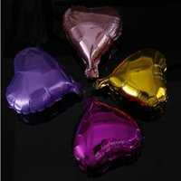 """Wholesale Wholesale Party Supplies Direct - Manufacturer's direct-sale wedding dress decorated heart-shaped balloon 5 """"10"""" 18 """"aluminum balloon advertisement party decorate supplies."""