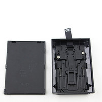 ince sabit sürücüler toptan satış-Siyah Sabit Disk Sürücüsü HDD XBOX 360 Slim için Dahili Kasa Muhafaza Shell Kutusu DHL FEDEX EMS ÜCRETSIZ KARGO