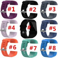 Wholesale tool monitoring resale online - Replacement TPE Wrist band Watch Strap for Fitbit Surge Strap Watchbands GPS Heart Rate Monitor w Tool Smart Superwatch