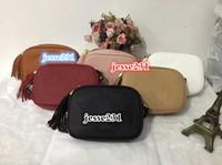 khaki crossbody tasche großhandel-Designer-Handtaschen-hohe Qualität Luxusgeldbeutel Berühmte Handtaschenfrauen-Handtaschen bag Crossbody Soho-Beutel-Disco-Schulter-Beutel-Fransenbeutel Geldbeutel