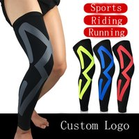 4d6564e38e Wholesale basketball compression leg sleeves for sale - Group buy 4 Colors  Sports Knee Compression Elastic