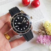 gummi armband uhr herren großhandel-40mm Kautschukarmband der neuen Männer 116660 DWELLER Quartz Business Casual SEA Herrenuhr