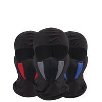 vollgesichts-paintball-maske großhandel-Helm Schutz Vollmaske Motorrad Tactical Airsoft Paintball Radfahren Bike Ski Masken Kreative Staubdicht Hut 13 8xg ff