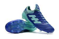 zapatos de fútbol al aire libre de interior al por mayor-Made in Germany Zapatos de fútbol al aire libre Copa 18.1 FG Botas de fútbol Indoor Copa Tango 18.1 TF IN Calcetines Soccer Cleats White Black Football Boots