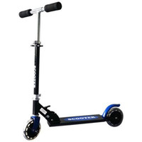 scooters de pie al por mayor-Los niños Ajustable Plegable Pie Kick Scooter Dos Ruedas Pie Scooter Niños Aluminio Adulto Altura Movimiento Pedal Juguetes 55jb dd