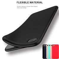 Wholesale iphone case silicone white pink online - For iPhone X Plus S Protection Case Ultra Slim Matte Soft Silicone Protective Cover Case for Samsung S9 S8 Note8