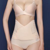banda de barriga shapewear venda por atacado-Mulheres pós-parto barriga cinto de recuperação de maternidade tummy envoltório espartilho pós gravidez cinto emagrecimento cintura barriga banda shapewear