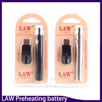 Wholesale Usb G2 - Law Preheating Battery USB Charger Kit 1100mah O Pen Bud Touch Variable Voltage Battery For CE3 G2 G5 ccell th205 Mt6 Cartridges 0266177-1