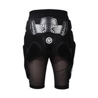 kurz schützen groihandel-BRAND Motorrad Mesh Butt Crotch Rüstung schützen Pads Shorts Motorrad Motorcross Protctive Getriebe Shorts