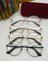 acdaef6b518 2018 CG2292 glasses muti-color stripe temple Korea vintage metal glasses  52-20-140 round frame younger sunglasses or prescription glasses