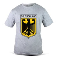 Wholesale fifa for sale - 1804 GY Germany German Podolski FIFA World Cup Football Soccer Grey Men T Shirt