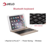 Wholesale Stand Holder Wireless Bluetooth Keyboard Ultra Thin Mute For IPad Air Ipad Pro Tablet Keyboard Smart Cover Case