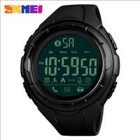 Wholesale wholesale watches skmei - SKMEI 1326 Men Fashion Smart Watch Waterproof Pedometer Digital Wristwatches Remote Camera Calorie Bluetooth Watch Relogio Masculino