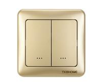 interruptores de onda z al por mayor-TZ35D Atenuador de doble pared Z-Wave, luz indicadora LED, para lámparas incandescentes, control z-wave inalámbrico y manual