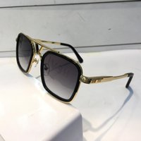 Wholesale purple gold alloy for sale - Group buy Luxury Sunglasses For Men Retro Vintage Z0947 Designer Sunglasses Shiny Gold Summer Style Laser Logo Gold Plated With Case