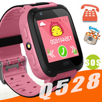 Wholesale smart camera alarm - Q528 Kids Smart Watch Kid SmartWatch Inch Touch Screen SOS Emergency GPRS Alarm Camera Anti lost Clock Wristwatch Baby Clock