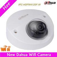 Wholesale Security Camera W - Hot Dahua Wifi IP Camera IPC-HDPW4120F-W Built-in MIC IR HD 960p Security Camera 1MP IR Support Onvif Micro SD English version