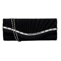Wholesale women stylish handbag wholesale - Hot Sale Stylish Women Rhinestone Handbag Evening Party Clutch Bag Wedding Wallet Purse
