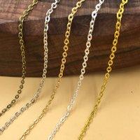 gold connector links chains بالجملة-2 ملليمتر فضة الصليب يا موصلات سلاسل الذهب والمجوهرات الاكسسوارات ربط سلسلة ل diy الناشر المنجد قلادة جعل التبعي النتائج