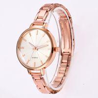 Wholesale gold yoyo resale online - Fashion women ladies luxury geneva metal watch alloy dress quartz party wrist watches colors for women YOYO