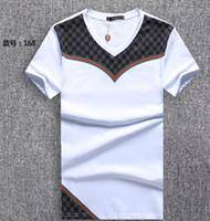 Wholesale fashion screen printing - 2018 Wholesale coat Men's T-Shirts Full screen tiger printing hip hop clothing mens designer shirts plus size men polos tees t shirts