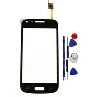 berühren samsung trend großhandel-Touchscreen-Panel für Samsung Galaxy Core Plus G350 SM-G350 Stern Vor G350e Trend 3 G3502 Sensor Digitizer Vorne Außenglas