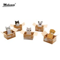 3D Cartoon Scrapbooking Cat Dog Box adesivi Carino cancelleria coreano Sticky Notes Materiale scolastico per ufficio Post-It Memo Pad