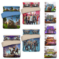Wholesale twin size bedding sets cover 3d online - 9 Designs D Printing Game Fortnite Bedding Set Duvet Cover TWIN FULL KING Size Quilt Covers Bed Blanket with Pillow case Pillowcase Covers
