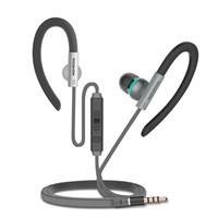 ordinateur crochet achat en gros de-M10 Ear-Hook Écouteurs Super Clear Bass Casque Isolant Avec Micro Portable Écouteurs Pour Xiaomi iPhone MP3 Player Computer