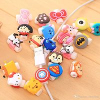 Wholesale case usb charge online - 1000pcs New Protective Case Cable Winder Cover Cartoon Cable Protector Data Line Cord Protector For iPhone USB Charging Cable