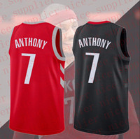suzuki stocks UK - Mens #7 Carmelo Anthony Houston Jersey 2018-19 Season Basketball Jersey Double Stiched High Quanlity Polyester IN STOCK