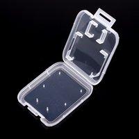 hafıza kutusu kartları toptan satış-SD Kart Koruma Kutusu Kart Konteyner Hafıza Kartı Kutuları Plastik Saklama Kutusu Taşıması Kolay wen6691