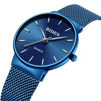 женщина тонкие часы оптовых-Women Watches Top  Fashion Steel Quart Ladies Watch 2018 Simple Slim Wrist Watches Geneva Womens Couple Watch for Lovers