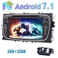 Wholesale car android rearview for sale - RearView Camera EinCar Android Car dvd Stereo for Ford Focus Double Din In Dash GPS Navigation Vehicle Radio Receiver Bluetooth