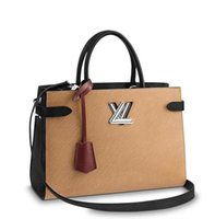 Wholesale faux leather cross body bag online - TWIST TOTE M51846 WOMEN  FASHION SHOWS SHOULDER BAGS 9c188aaf80823