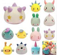 Wholesale toys for bedroom online - 15 cm Soft Geometric Monster Plush Toy Stuffed Animal Monster Toy for Children s Day Gift Bedroom Decoration Soft Dolls KKA6033